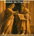 Huldah,prophetess