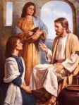 Jesus, Mary, Martha