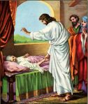 Jesus Heals Peter's Mother-in-Law Luke 4:38-39
