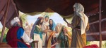 moses and daughters