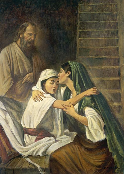 The Shunammite Ran Elijah Widow And Son