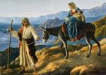 holy family flees to egypt