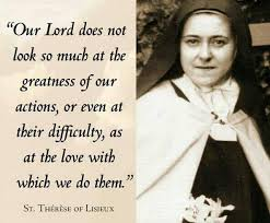 therese of lisieux quote