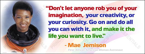 Mae Jemison Quotes mae jemison quote | My Lord Katie Mae Jemison Quotes